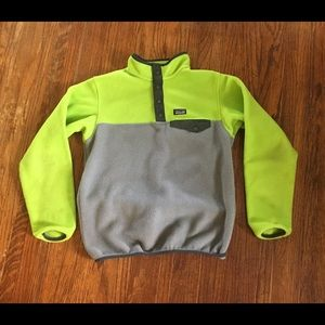 Patagonia Snap T Fleece Boys XL NICE